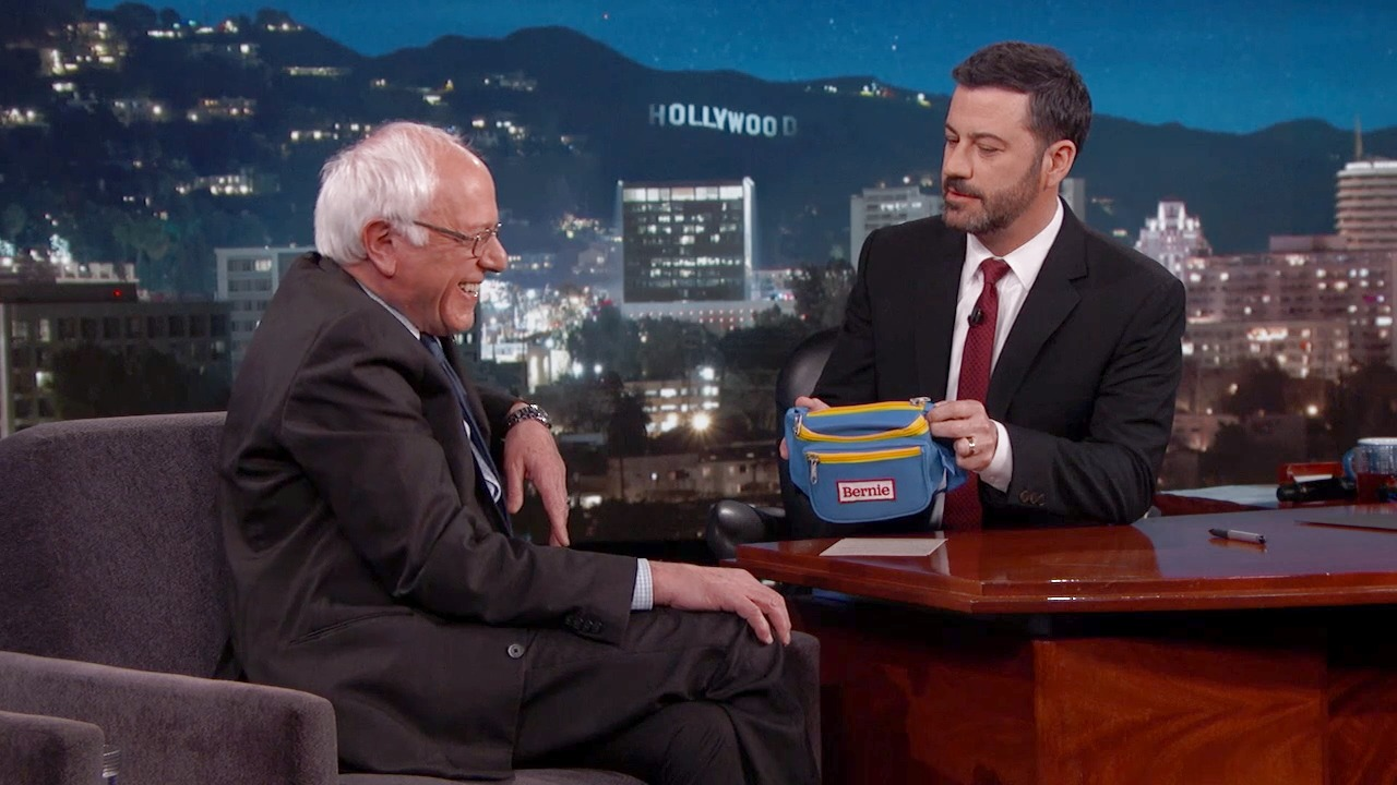 'Jimmy Kimmel Live!': Senator Bernie Sanders' Relationship with Hillary Clinton