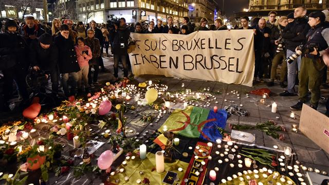 World Shows Solidarity With Belgium After Attacks