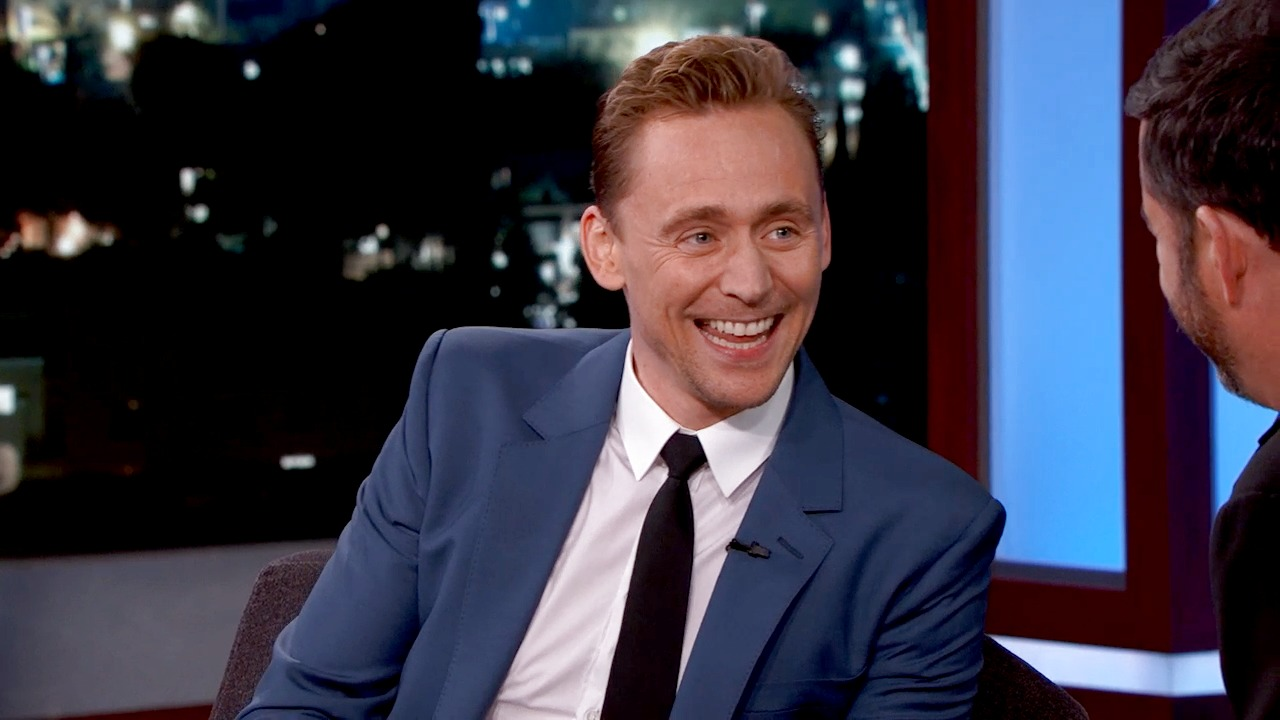 'Jimmy Kimmel Live!': Tom Hiddleston on Possibly Playing James Bond