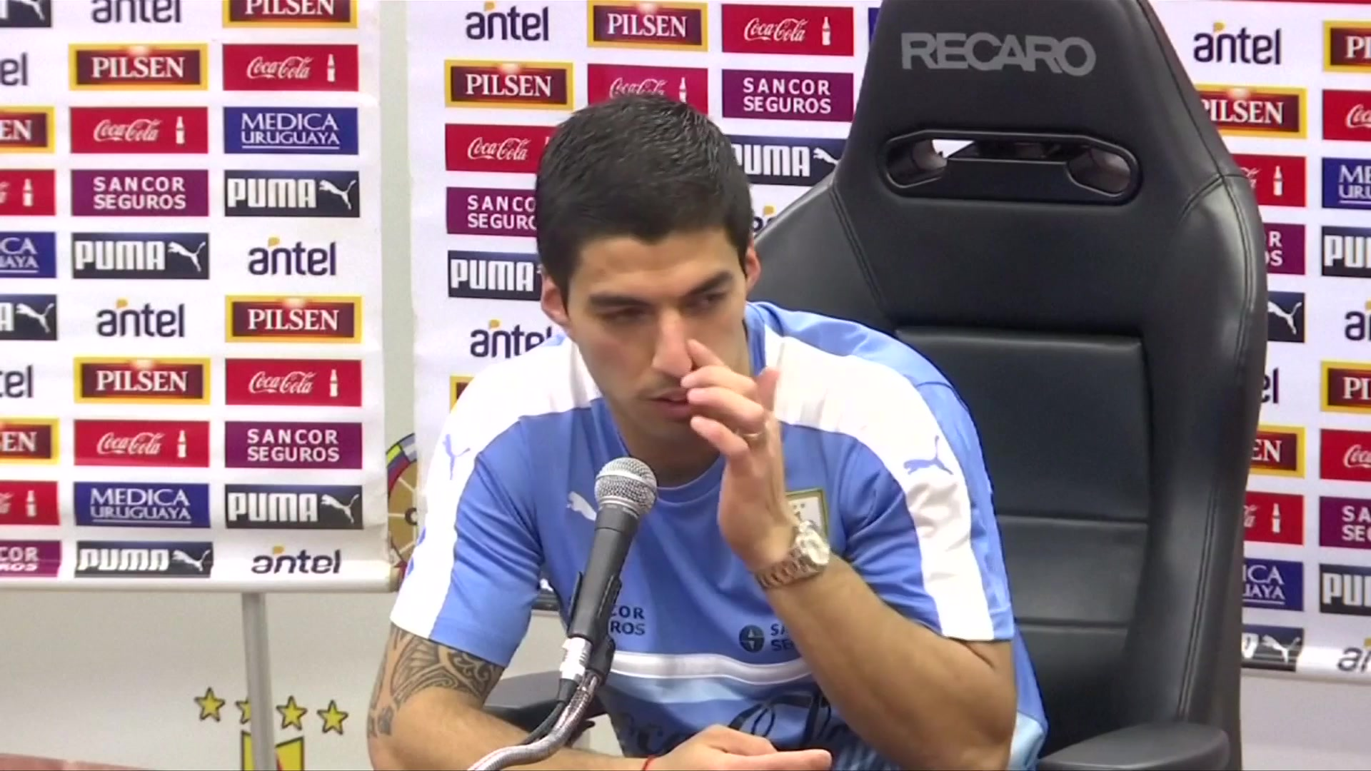 """Special to Be Back with My People"" - Suarez on Uruguay Return"