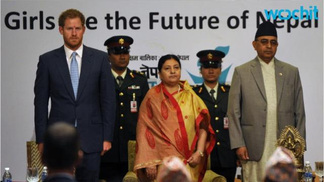 Prince Harry Support Womens Rights in Nepal