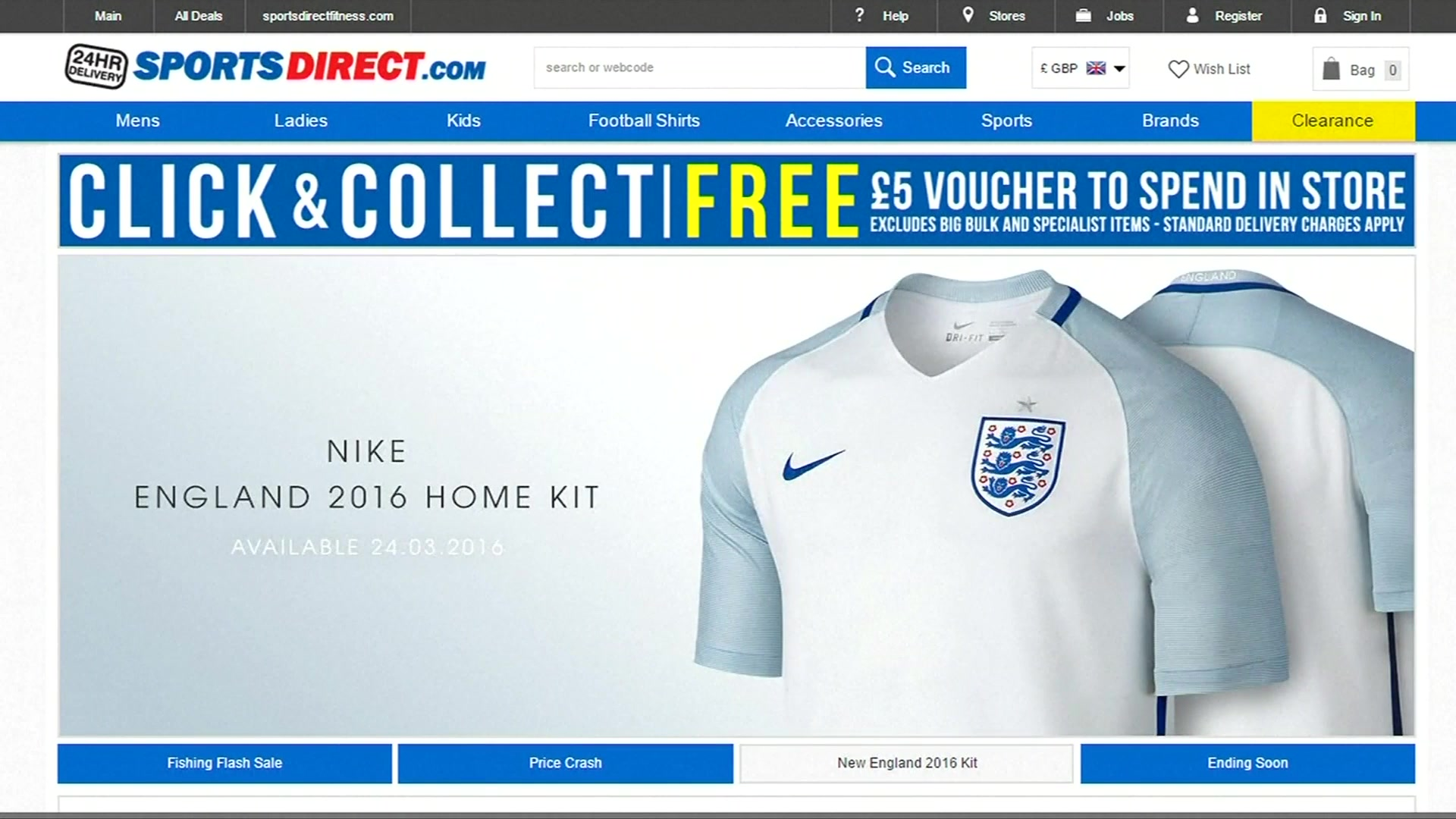 Nike, Sports Direct Sweating on Profits