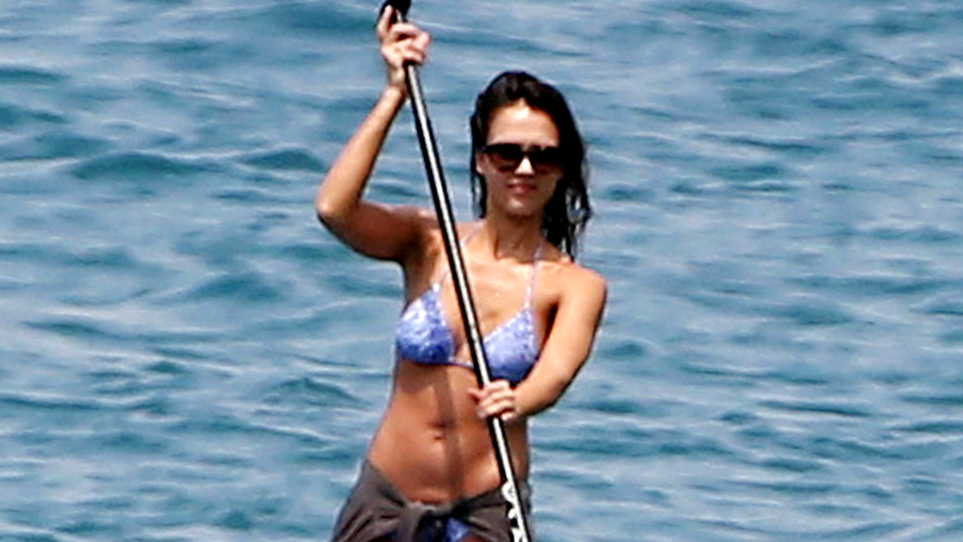 Jessica Alba Wows in Not One But Two Bikinis in Hawaii