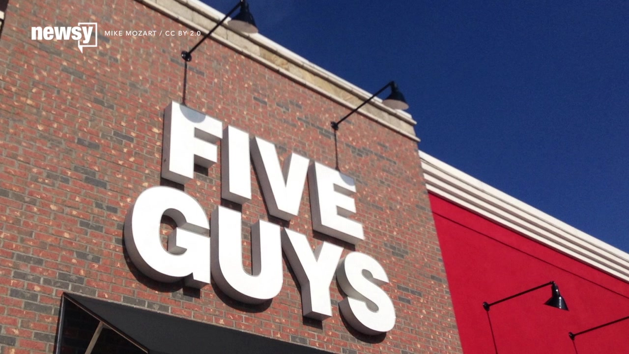 Five Guys Is the Top Fast-Food Joint in the UK