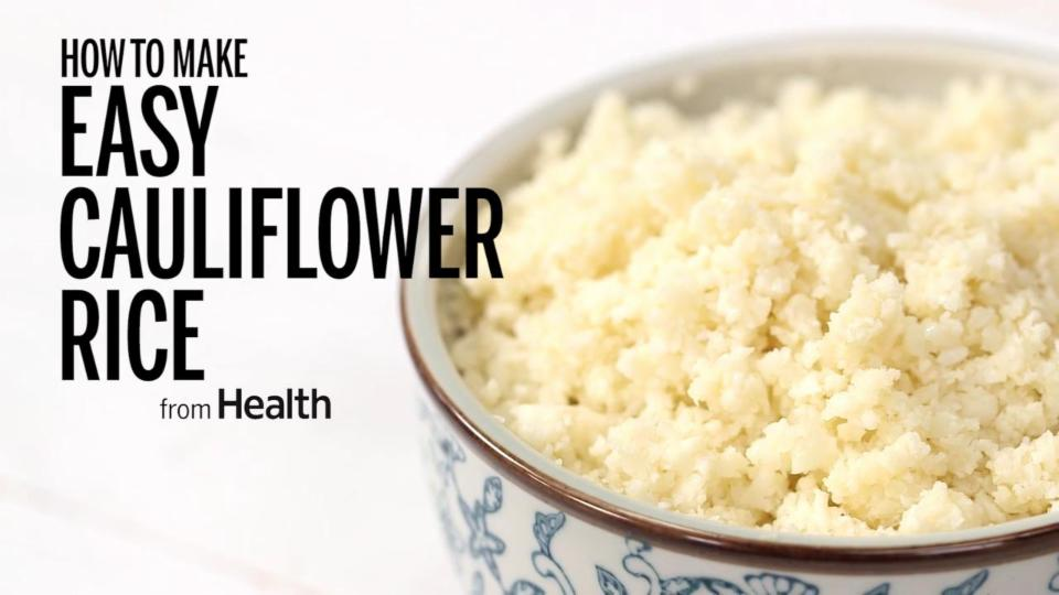 How to Make Easy Cauliflower Rice
