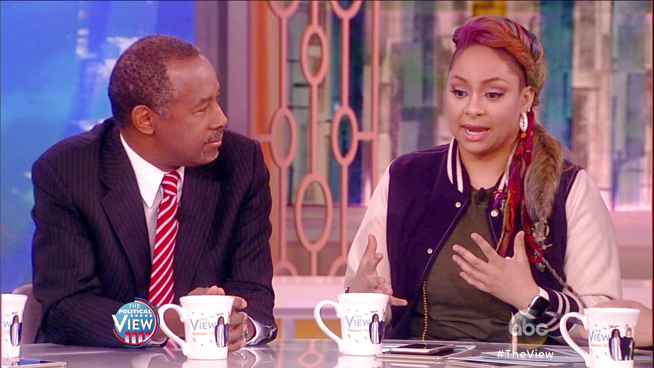 'The View': Dr. Ben Carson Says There Are Two Donald Trumps on 'The View'