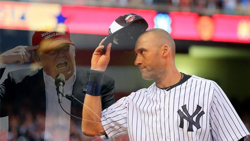 Derek Jeter is Not Interested in Being Donald Trump's VP