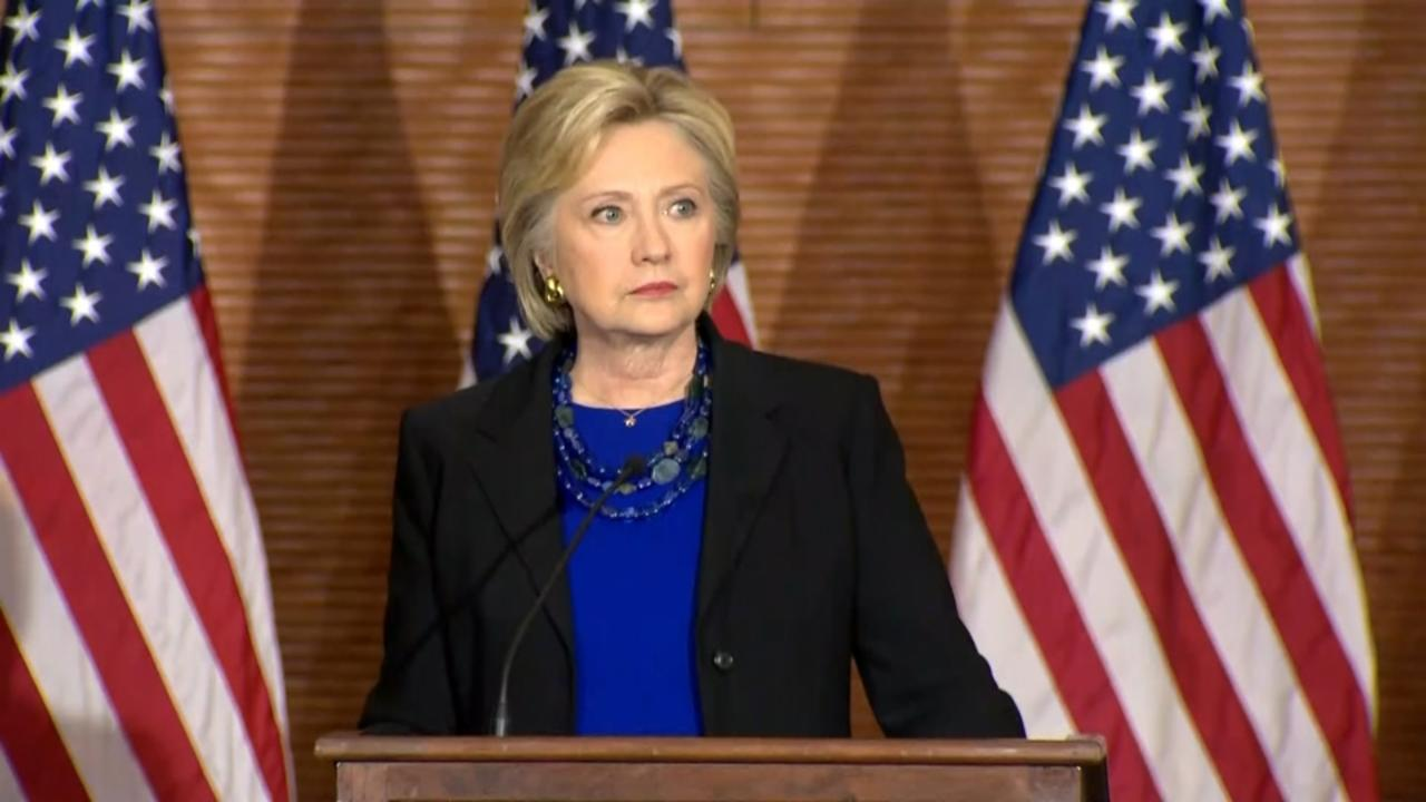 Clinton rebukes Republicans on Supreme Court
