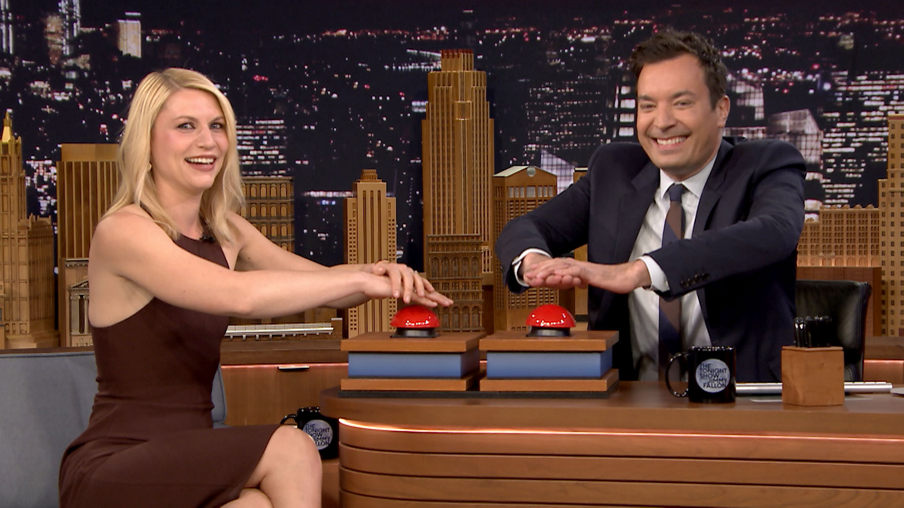Fast Family Feud with Claire Danes