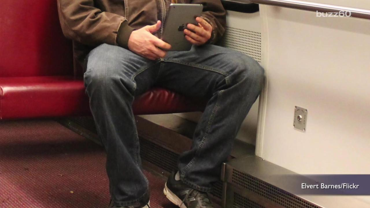 Why 'manspreading' could be the key to love