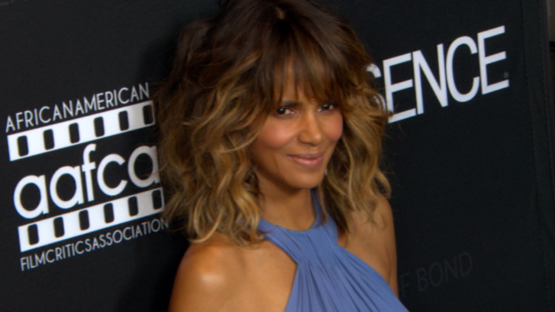 Halle Berry Goes Topless in First Instagram Post