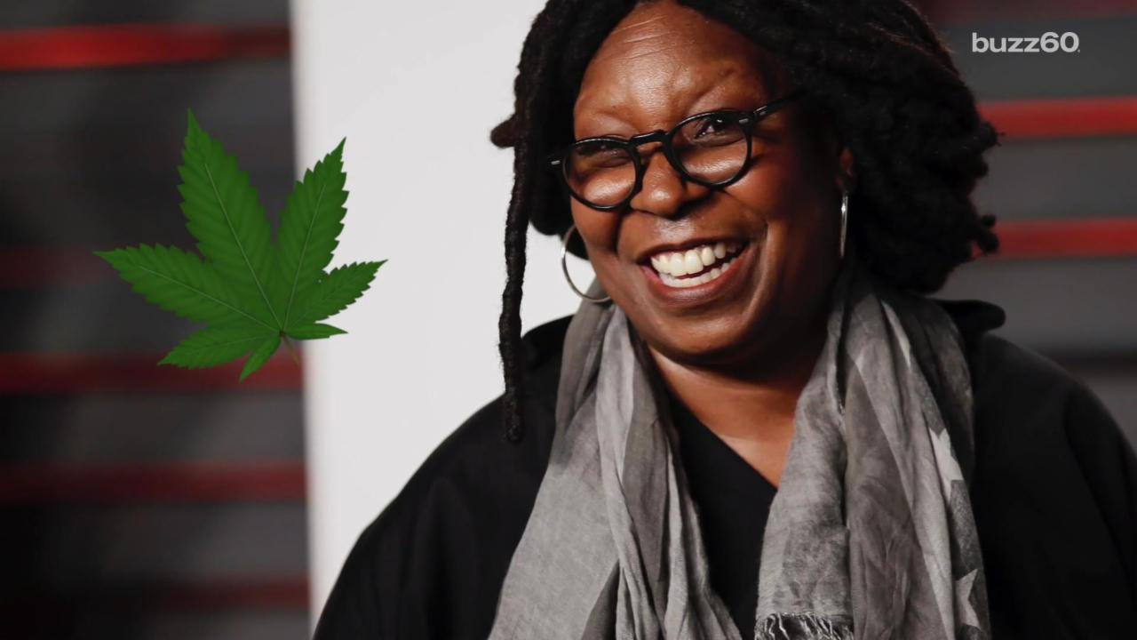 Whoopi Goldberg creates medical marijuana line for women
