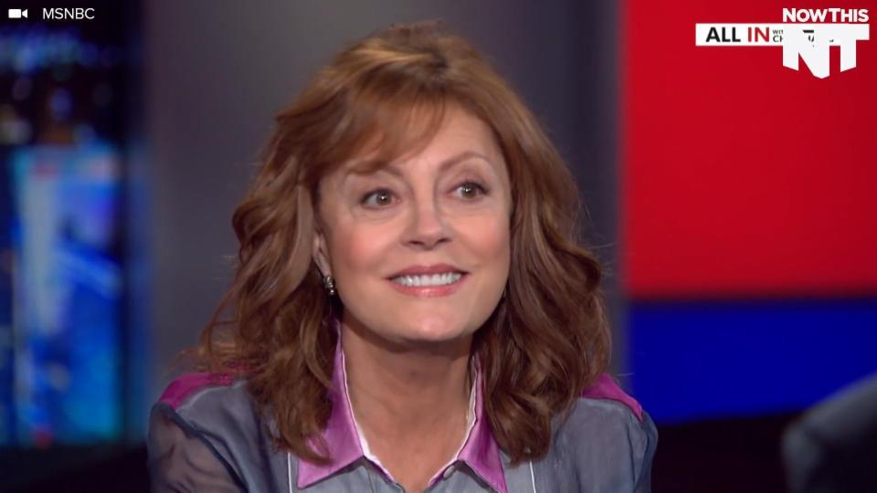 Susan Sarandon Is Not Sure She Would Vote For Hillary Clinton in the General Election