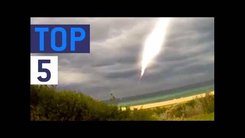 Top five UFO Sightings