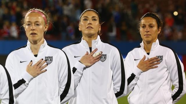 USWNT Players' Complaint Exposes Pro Soccer's Massive Gender Wage Gap