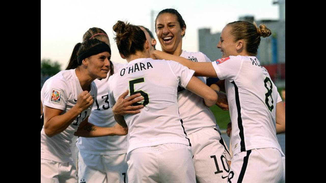 Five top female players accuse U.S. soccer of pay discrimination
