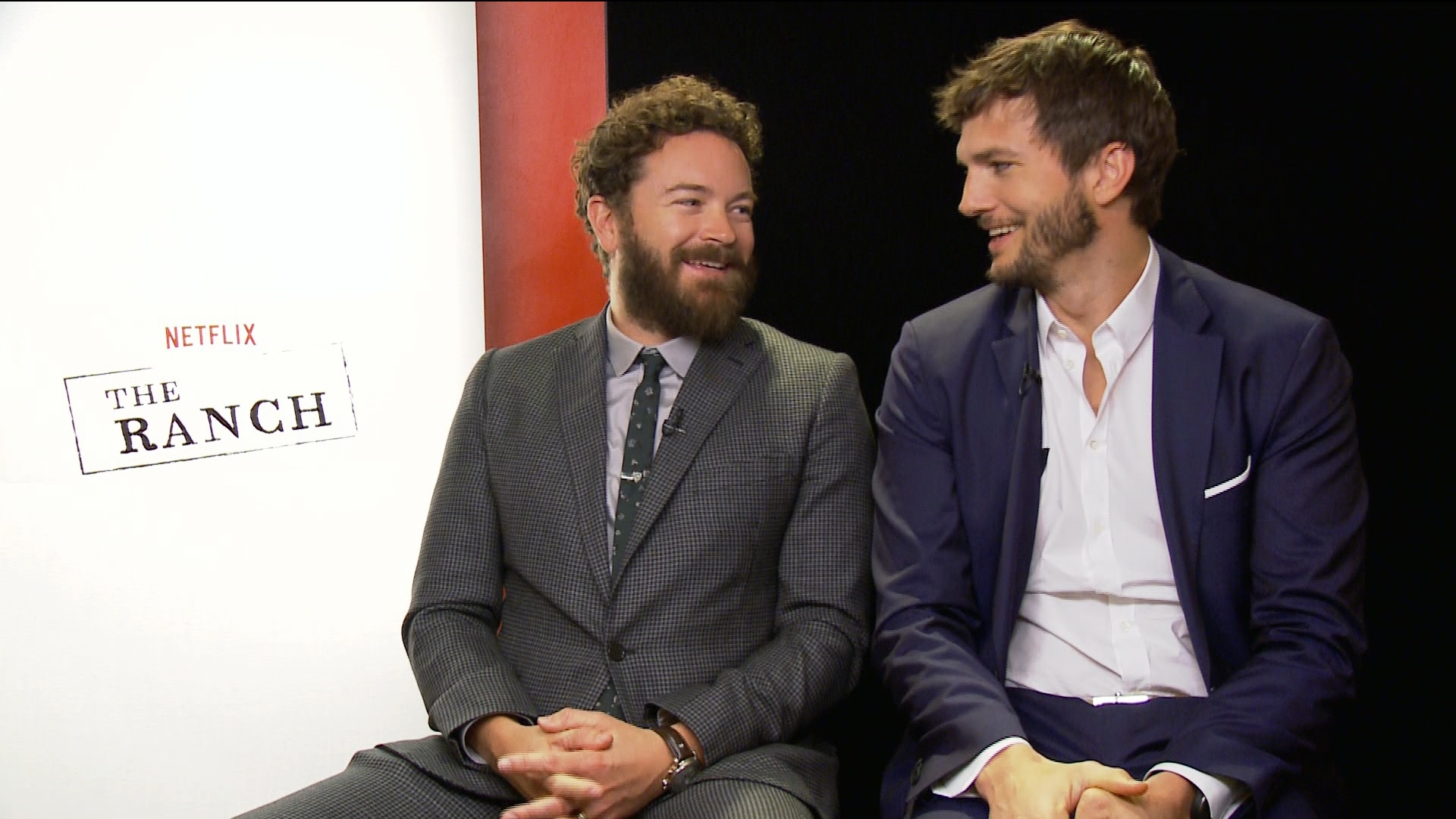 Ashton Kutcher and Danny Masterson Scoop on 'The Ranch'
