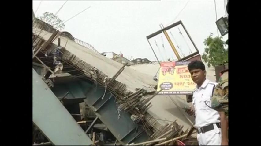 Death toll rises in India flyover collapse