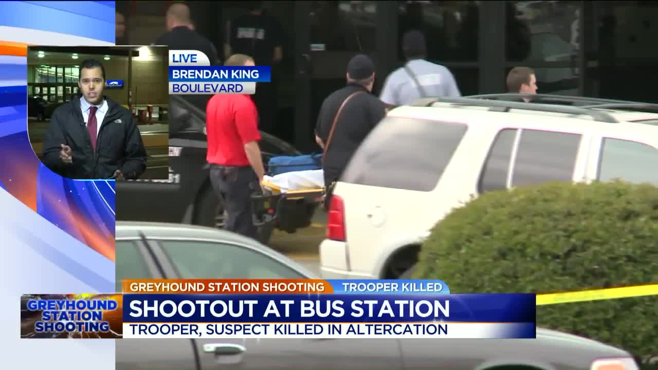 Virginia Trooper Killed After Questioning Man at Bus Station