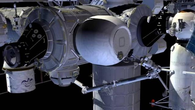 The Space Station's Newest Room Will Blow up Like a Balloon