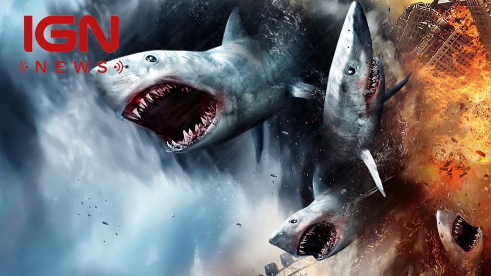 Sharknado 4 Gets Release Date, Star Wars-Inspired Title