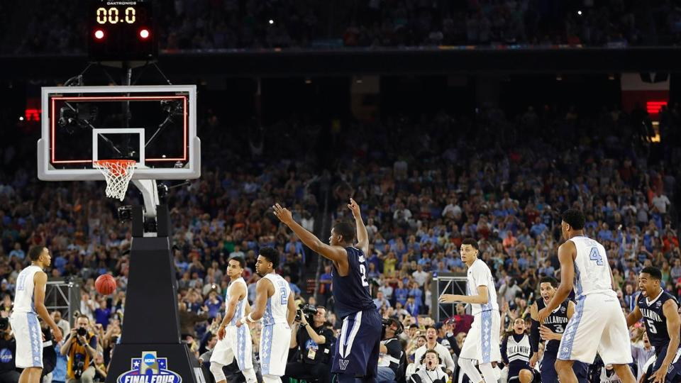 Villanova wins NCAA title on Kris Jenkins' buzzer-beating three