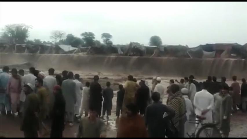 At least 55 dead in Pakistan floods