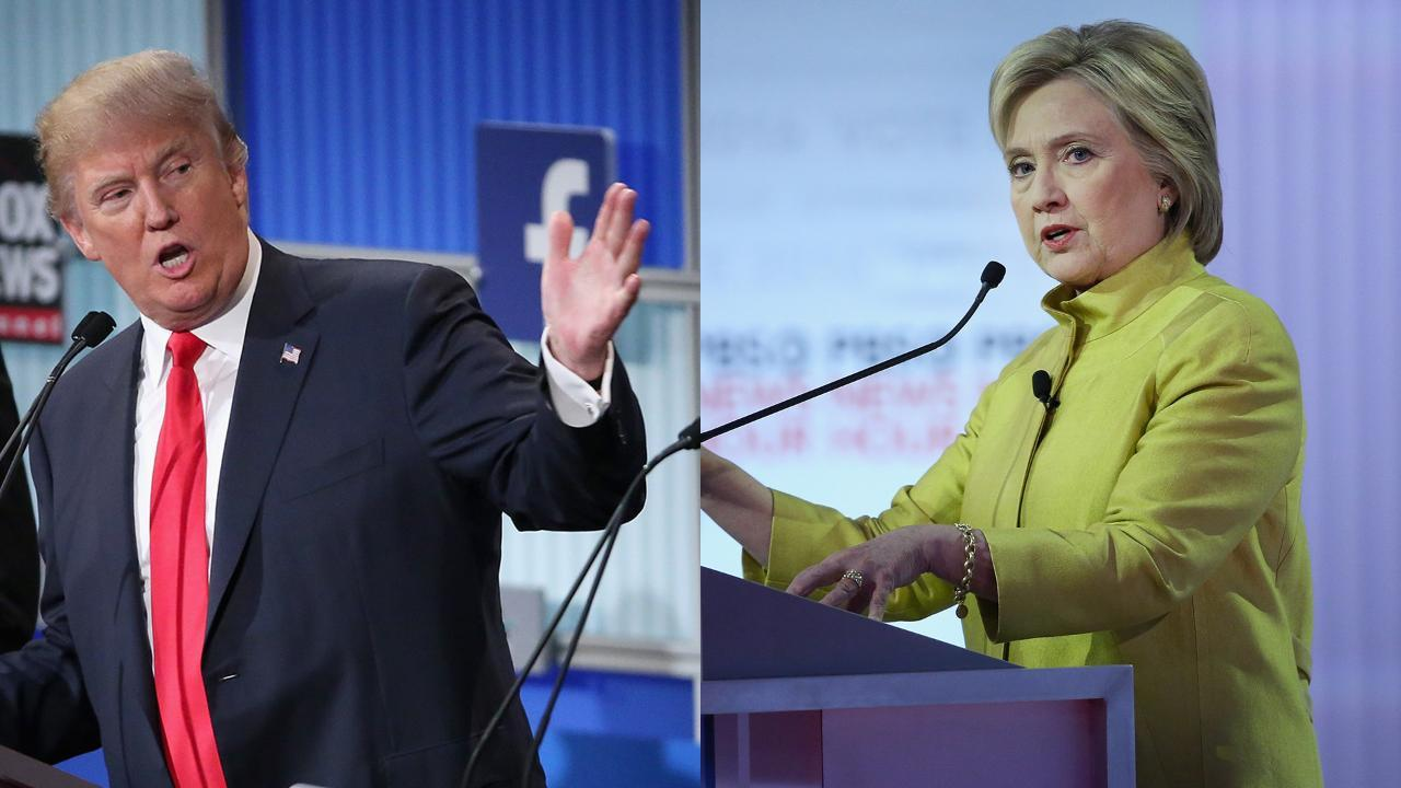 What a Clinton vs Trump Debate Might Look Like