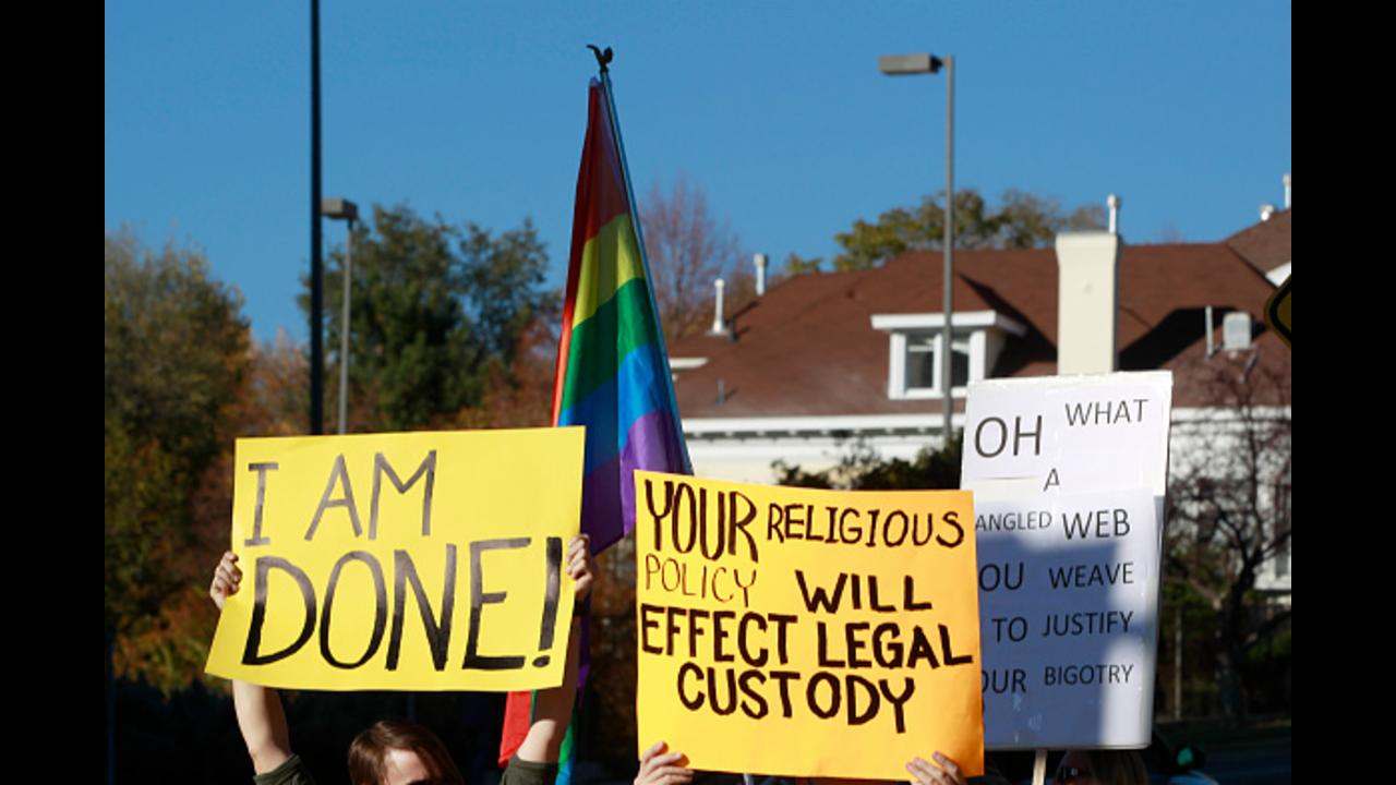 Religion law adopted in Mississippi over gay rights