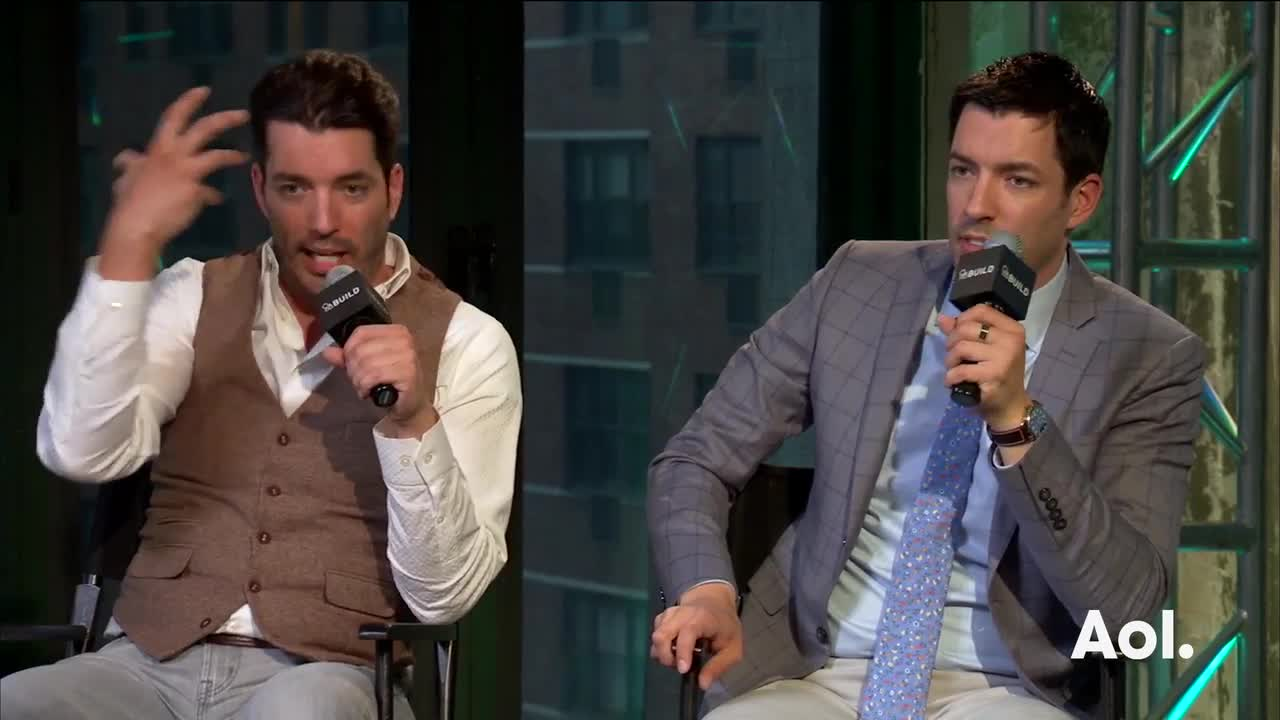 "Jonathan and Drew Scott On ""The Property Brothers"""
