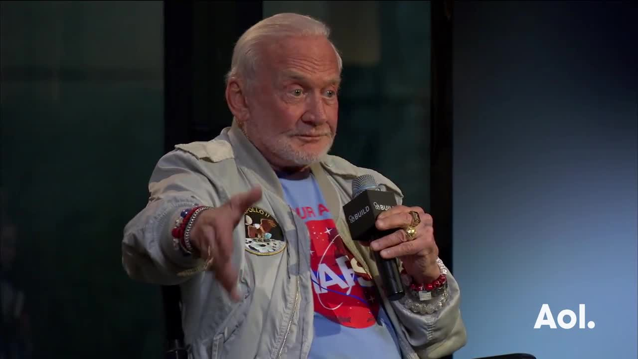 Buzz Aldrin discusses High Frequency Gravity Waves