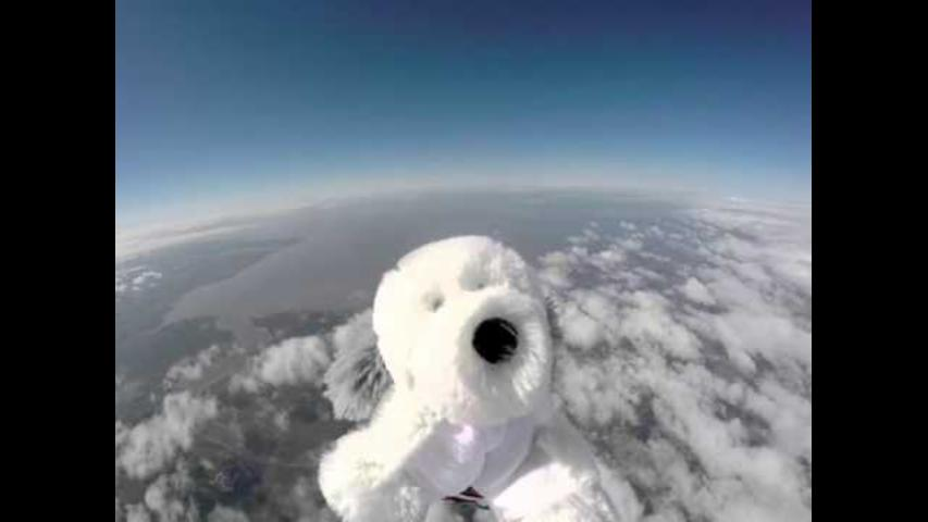 Lancashire Schoolkids Send Sam the Dog Into Stratosphere