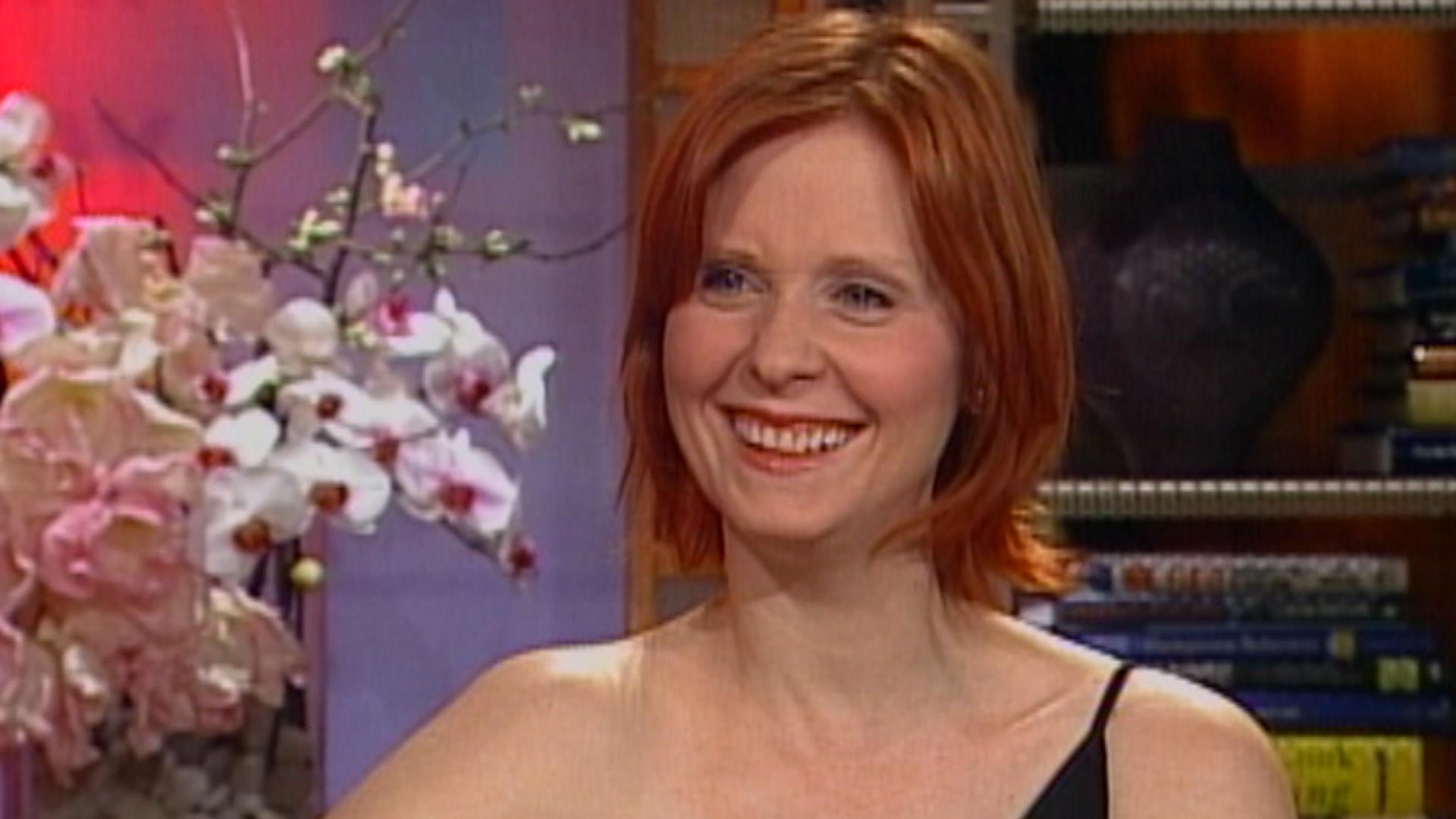 Flashback! Cynthia Nixon Talks 'Sex and the City' Finale on TODAY in 2004