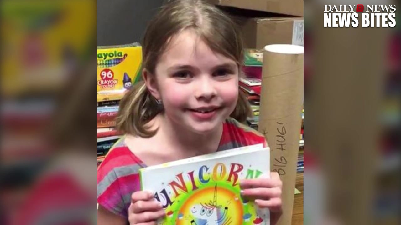 Authors Donate Hundreds of Books To Second Grader After House Fire