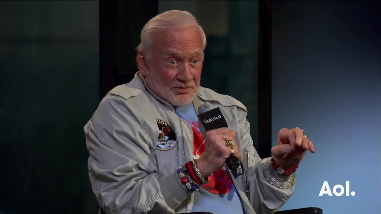 Buzz Aldrin Discusses Higher Life Forms