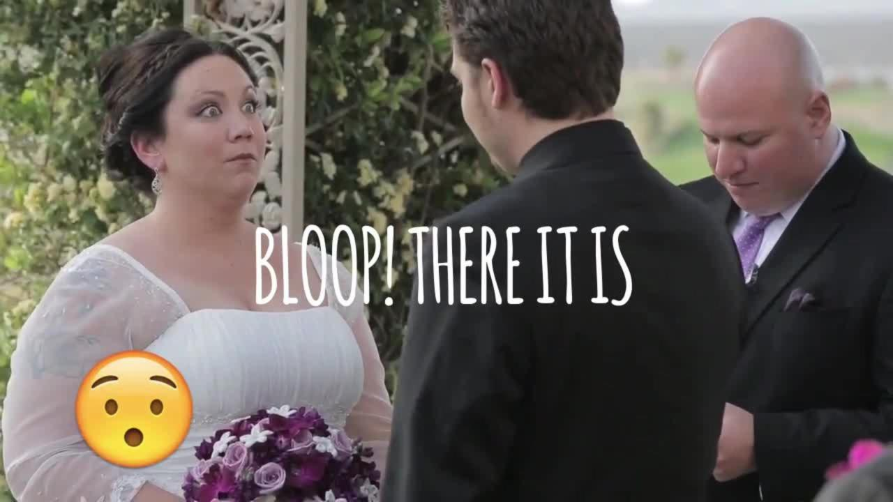 Bloop There it Is: Hilarious Wedding Day Bloopers