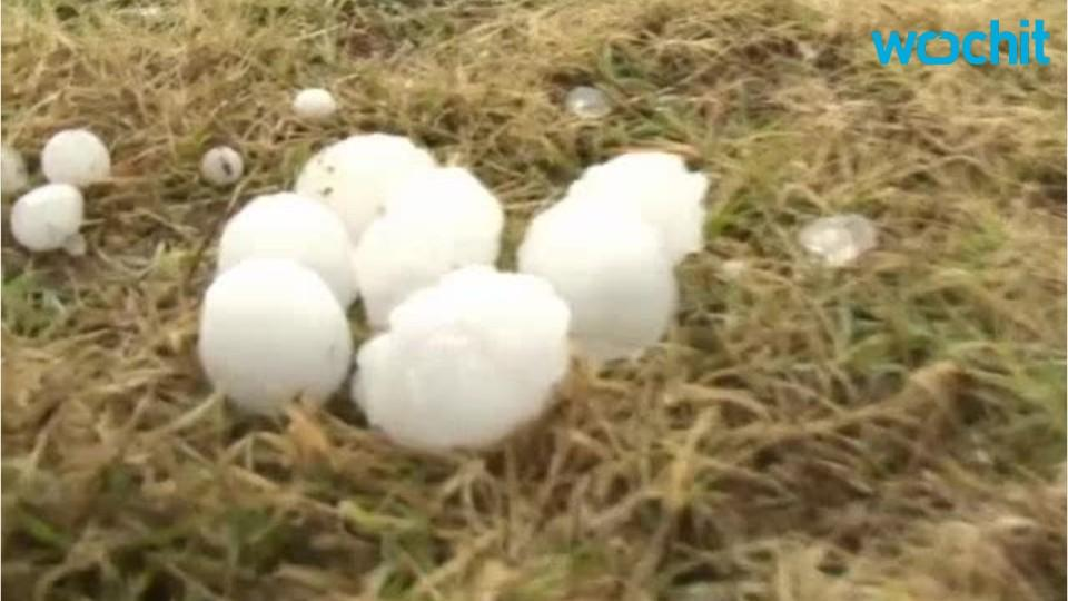 Egg-Sized Hail Hits China!