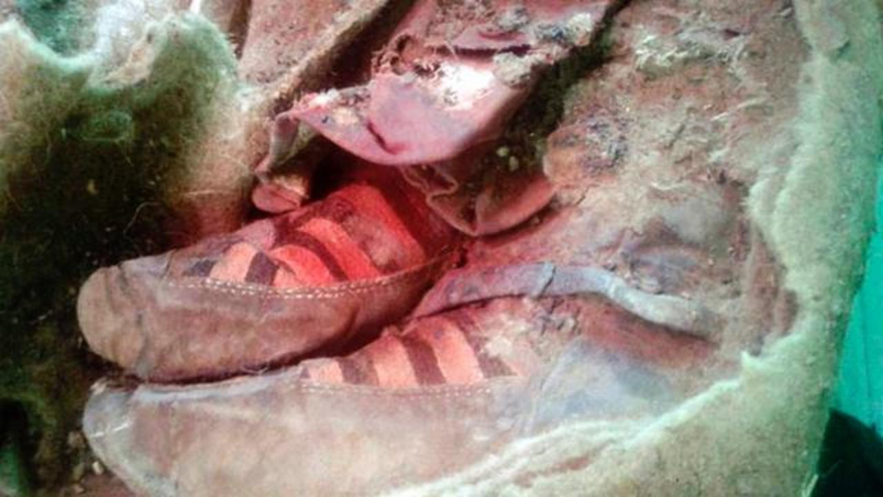 1,500-Year-Old Mummy Wearing Well Preserved Boots Unwrapped In Mongolia