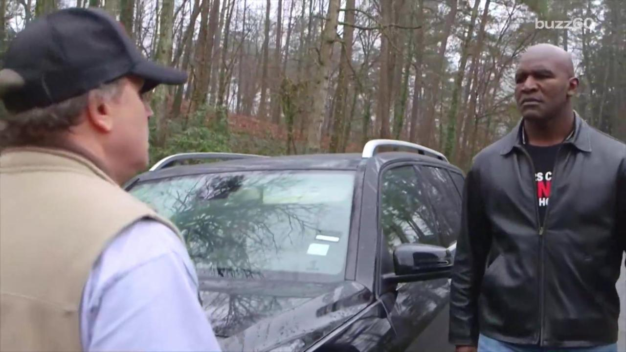 Video Featuring Evander Holyfield Hilariously Shows Dangers of Road Rage