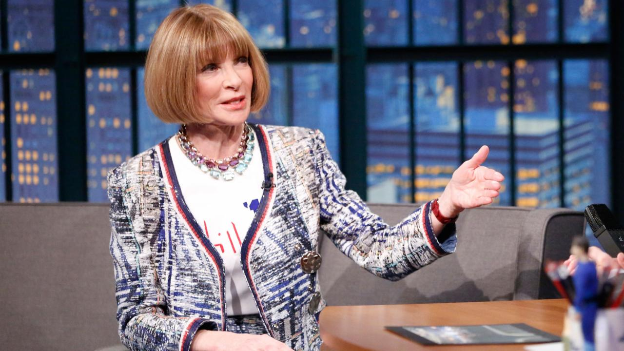 Anna Wintour's Adventures at Kanye West Fashion Shows