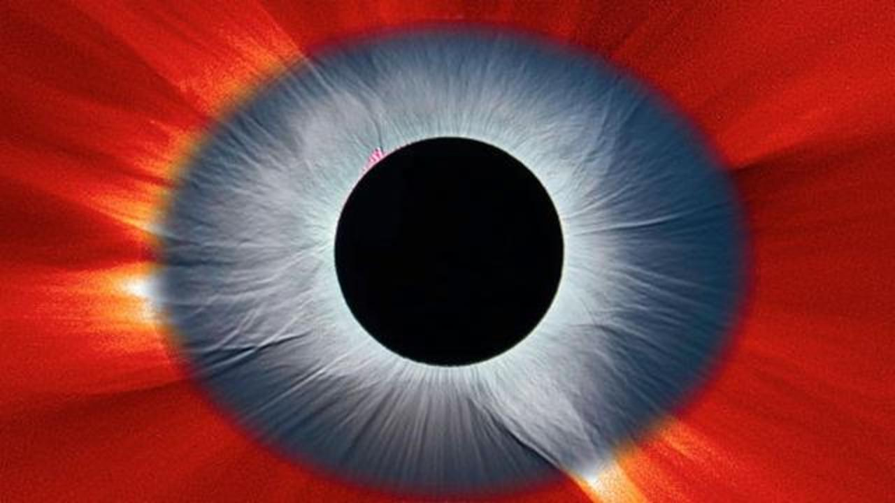 NASA's Solar Eclipse Image Resembles An Eye