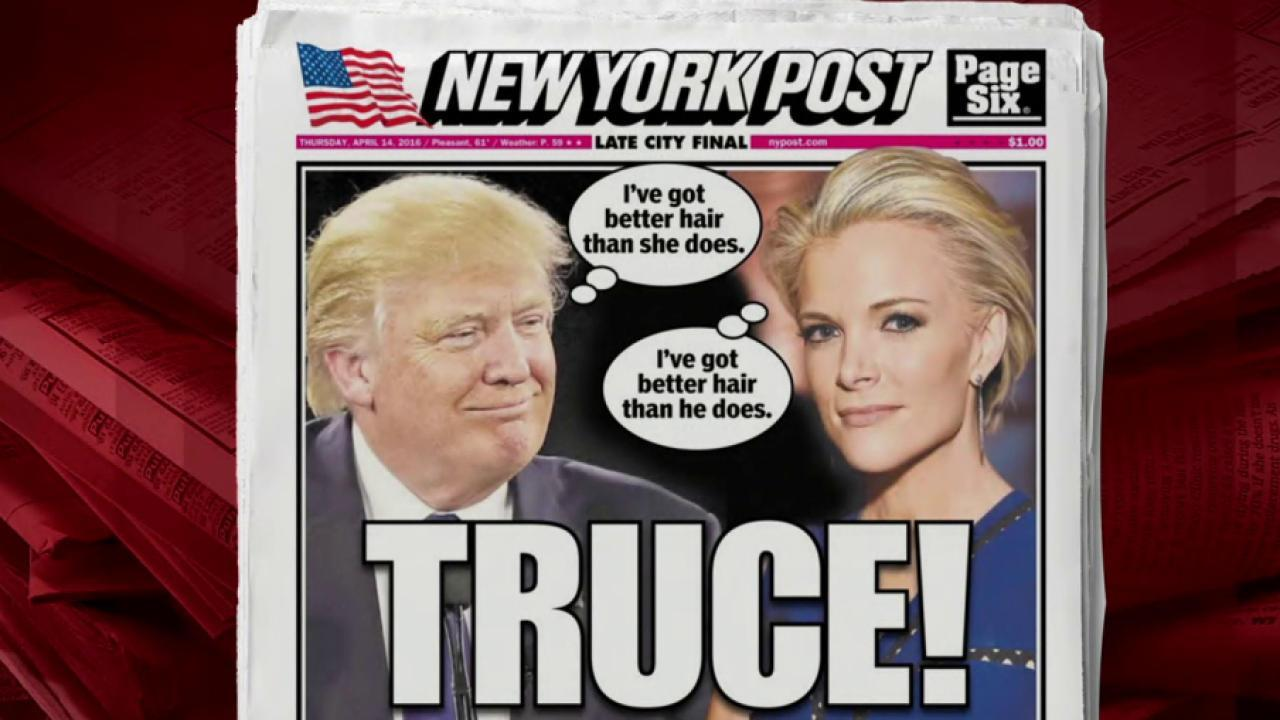 Have Trump, Megyn Kelly Called a Truce?