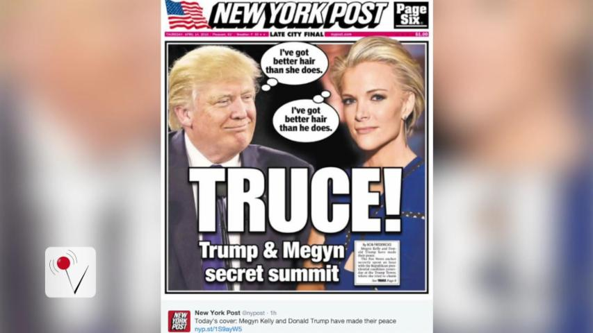 Megyn Kelly Clears the Air With Donald Trump