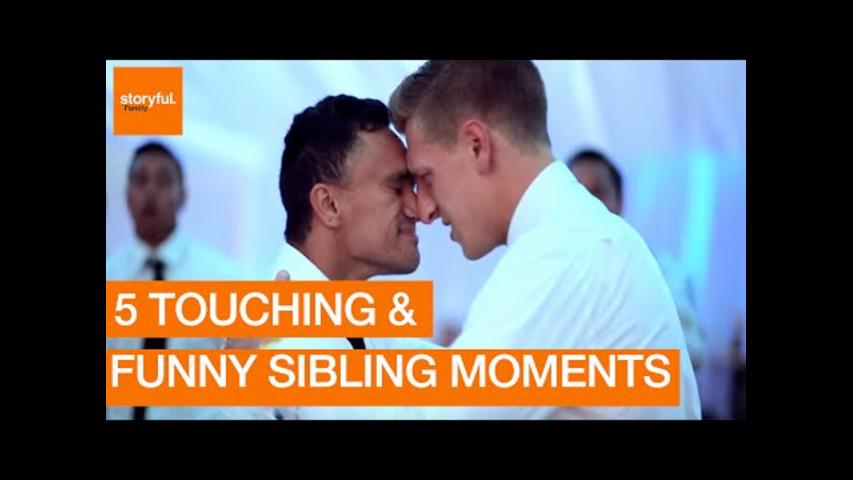 Funniest and Most Emotional Sibling Moments