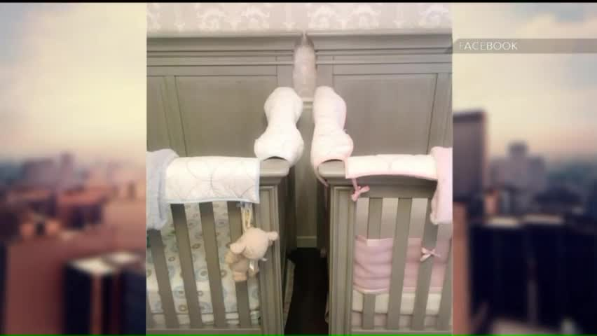 Mom's Warning About Twin Cribs Goes Viral