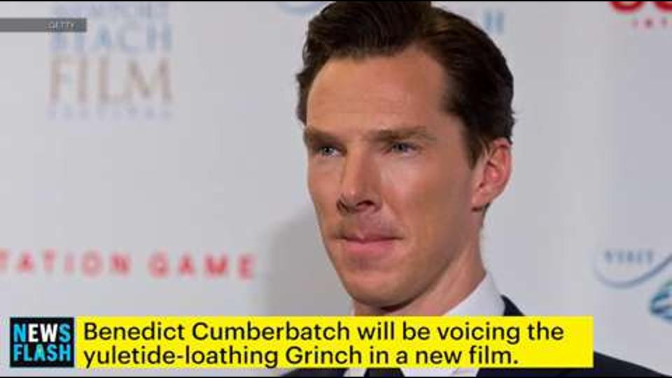 Benedict Cumberbatch will voice the new Grinch