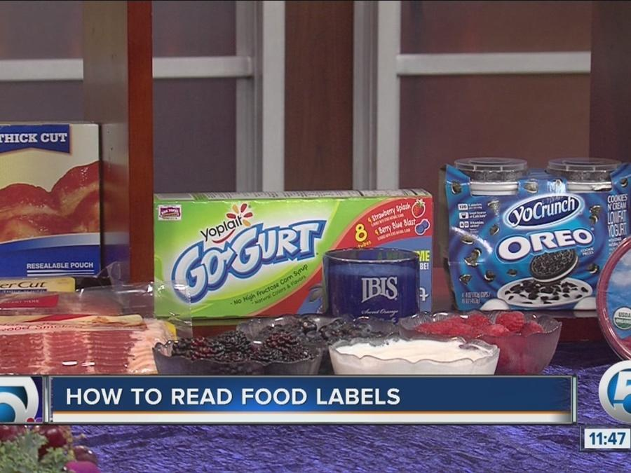 Tips on how to read food labels