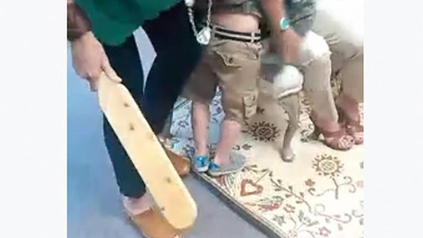 Video of Child's Paddling Sparks Outrage Online