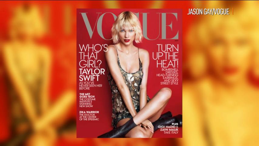 Taylor Swift is 'Vogue's' May Cover Girl!