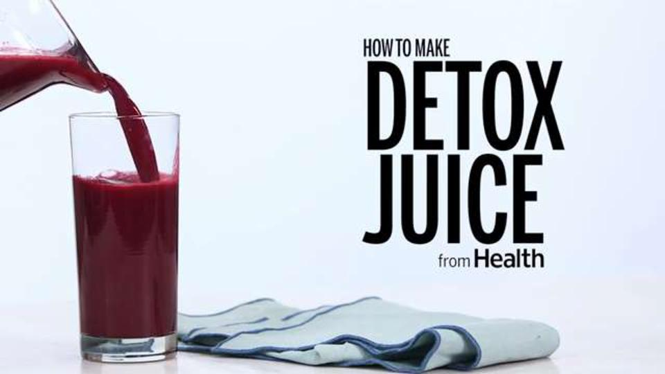 How to Make Detox Juice